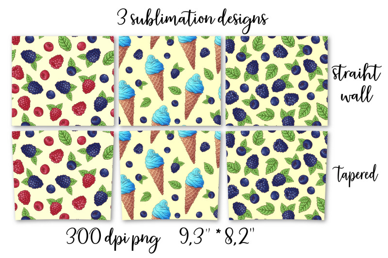 sweets-sublimation-design-skinny-tumbler-wrap-design