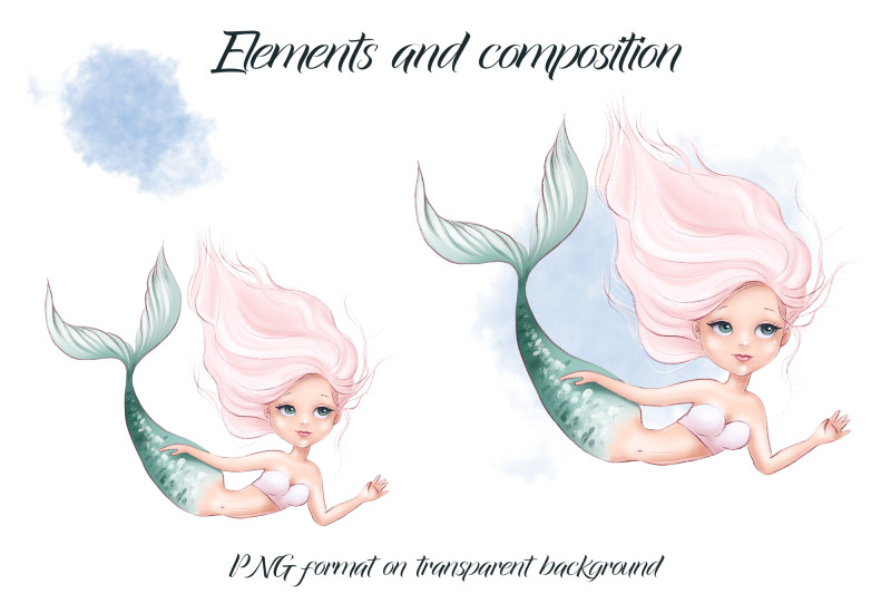mermaid-sublimation-design-for-printing
