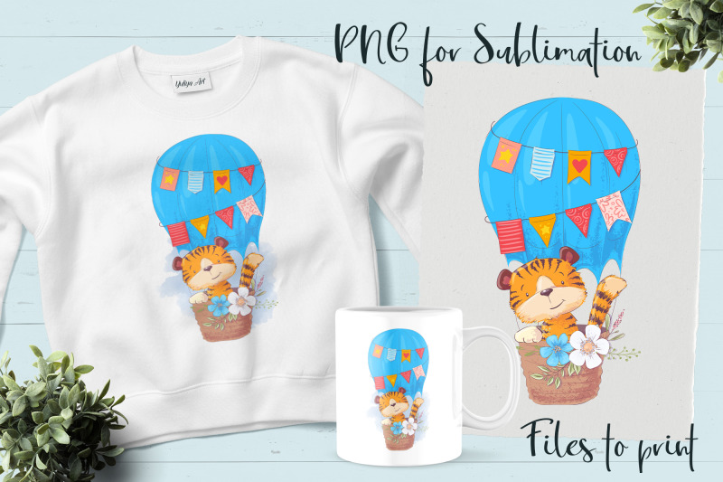 tiger-sublimation-design-for-printing