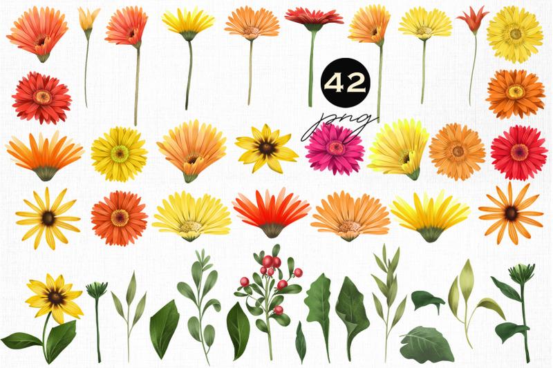 warm-flowers-clipart