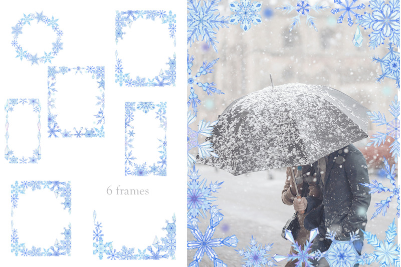 snowflakes-watercolor-clipart