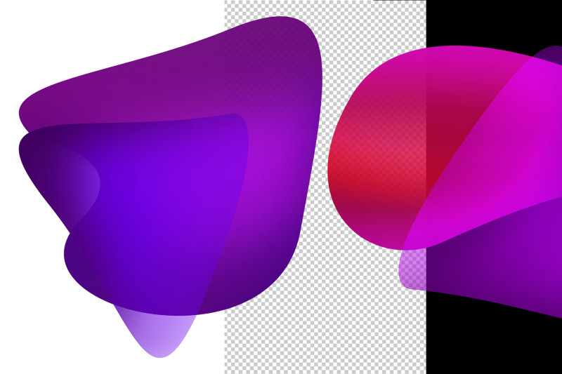 abstract-shapes-in-neon-colors