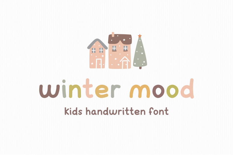 winter-mood-kids-font