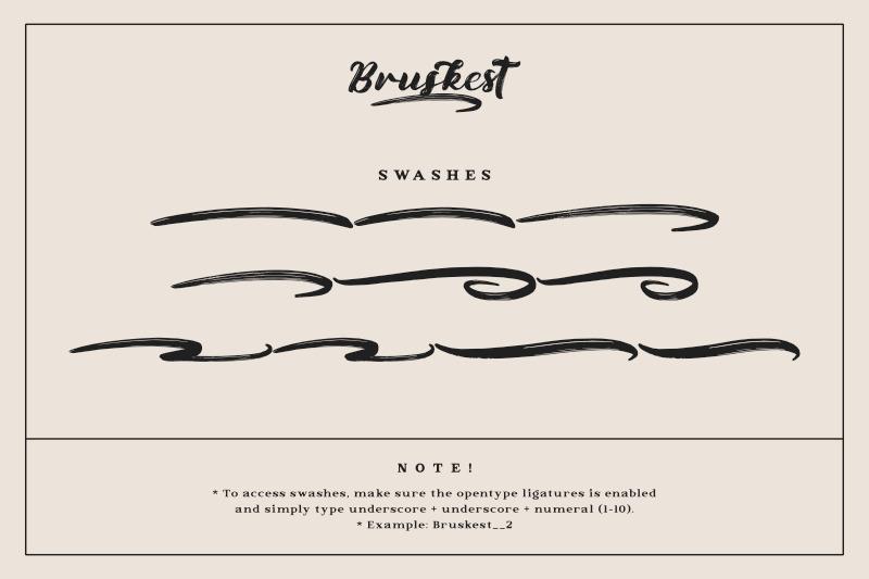 bruskest-handwritten-brush-font