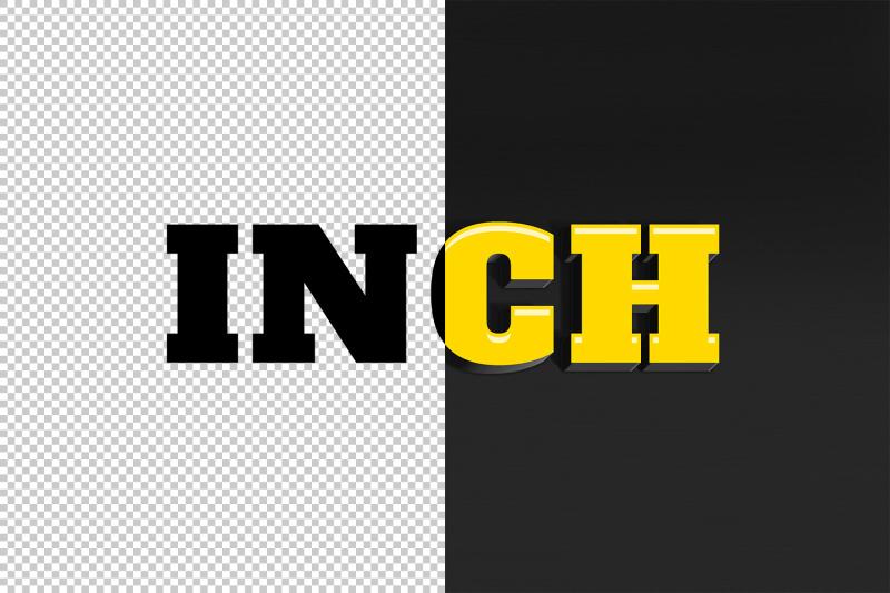 inch-3d-text-effect-psd