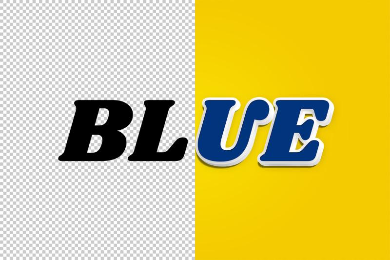 blue-3d-text-effect-psd