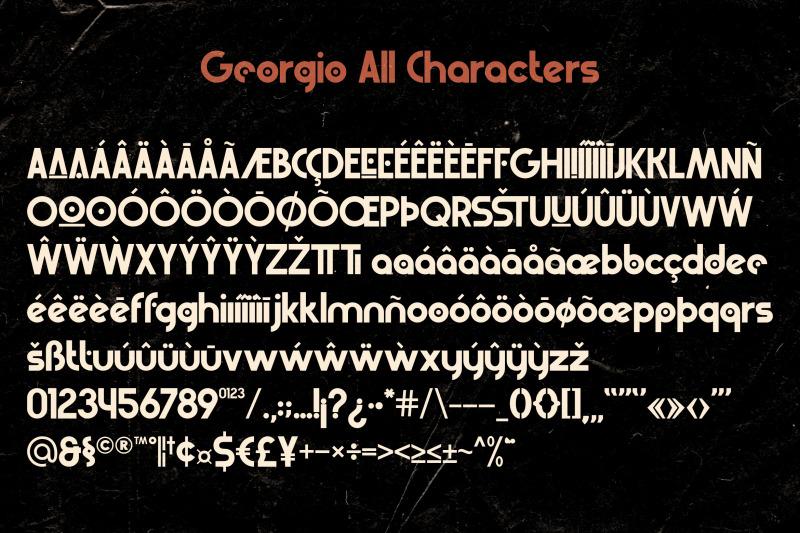 georgio-retro-typeface