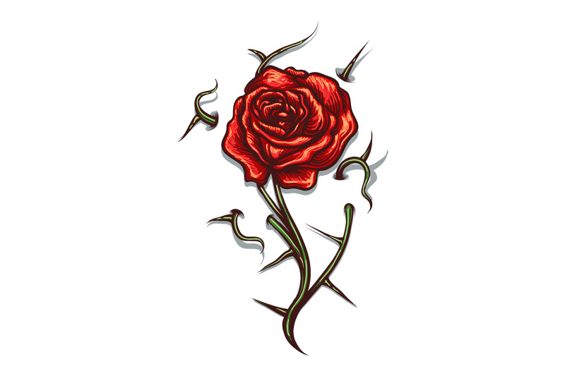 rose-with-thorns-tattoo