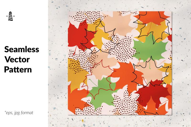 fall-leaf-seamless-pattern