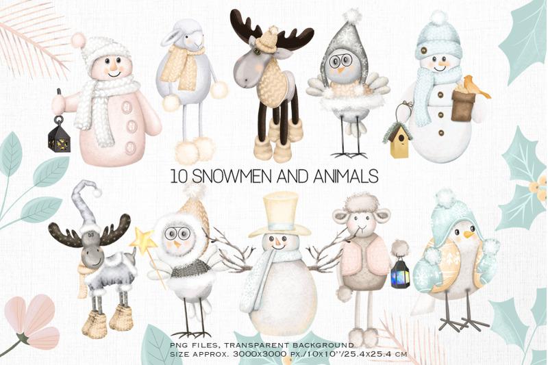 winter-animals-clipart