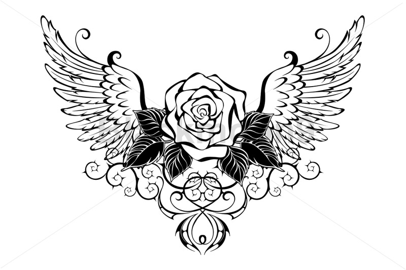 rose-with-wings