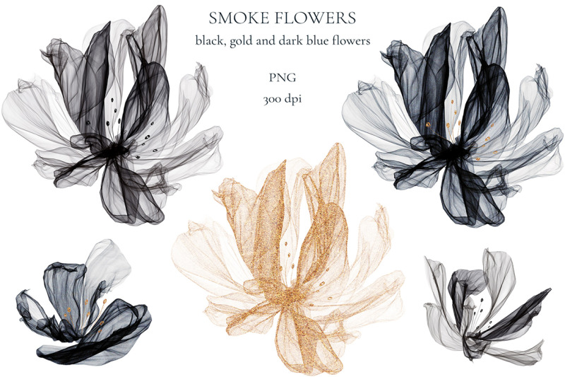 smoke-flowers