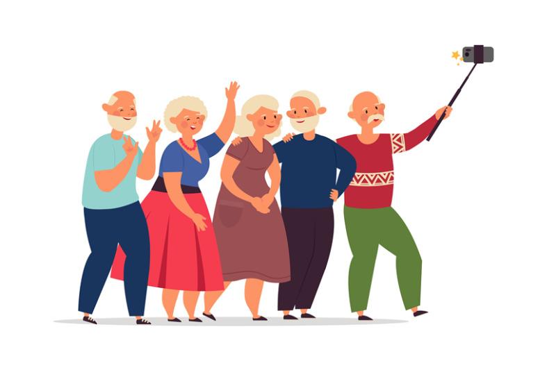 seniors-group-old-people-elderly-friends-together-doing-selfie-happ