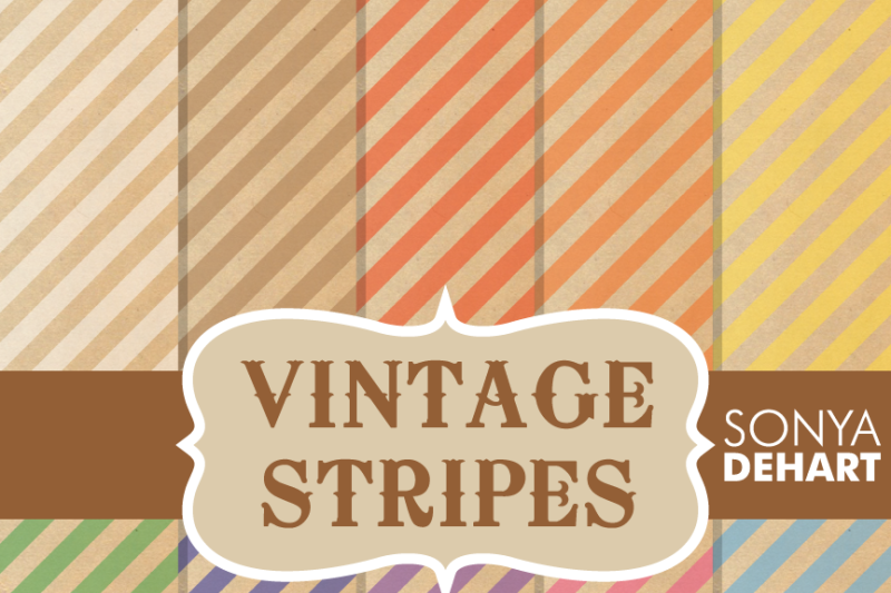 digital-papers-vintage-stripe-patterns