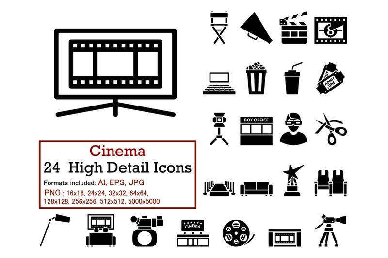 cinema-icon-set
