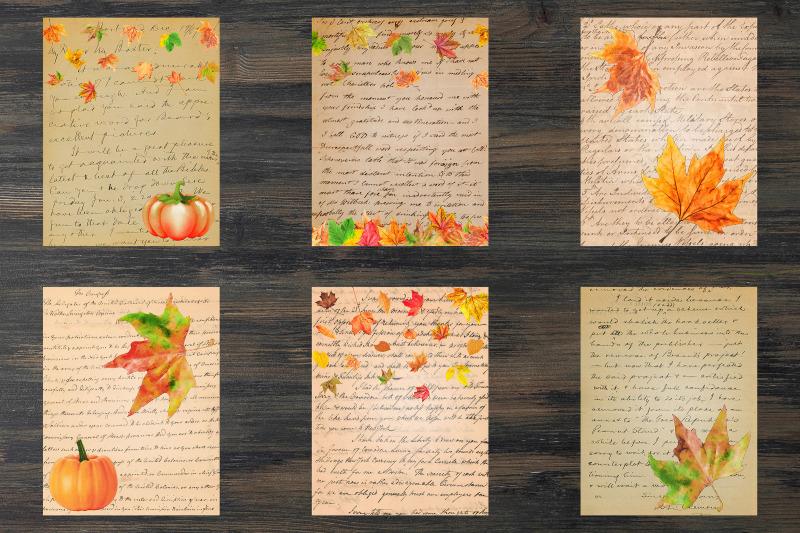 vintage-fall-digital-paper