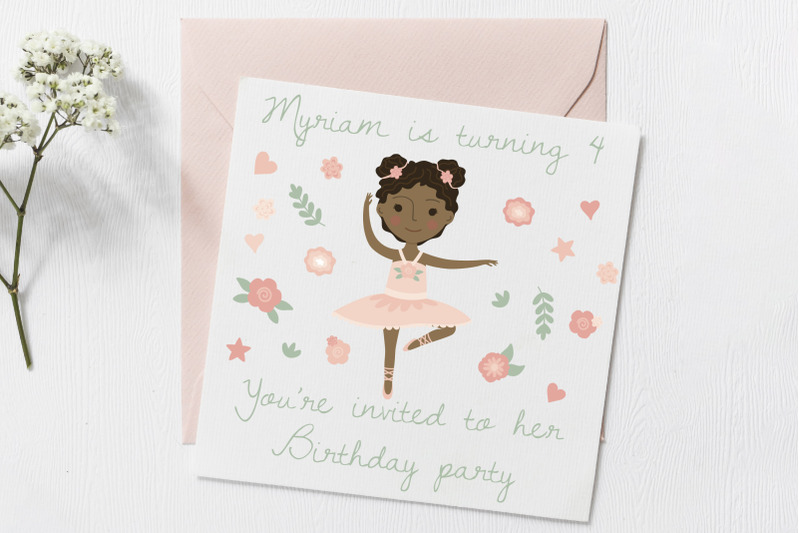 ballerina-dancing-cute-paper-doll-pink-tutu-multi-skin-tone-hairdo