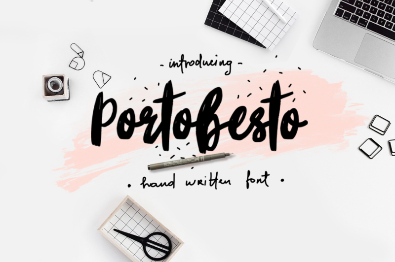 portobesto-brush-script-trio