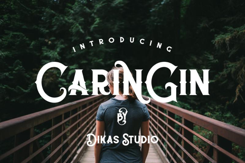 caringin-typeface
