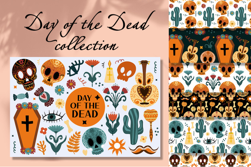 day-of-the-dead-boho-set