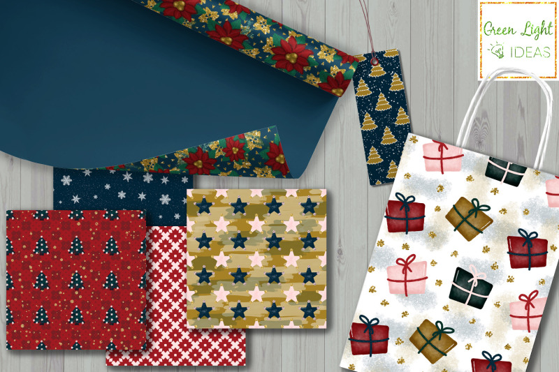 christmas-digital-papers-holidays-backgrounds-xmas-scrapbook-papers