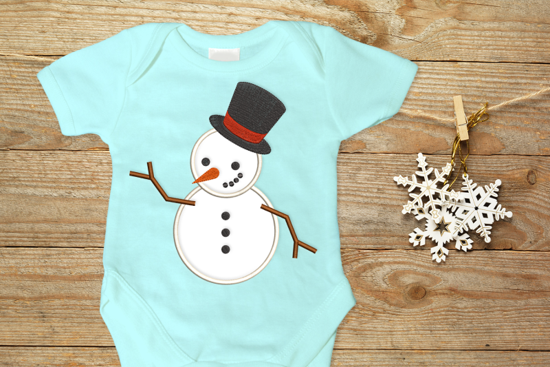 snowman-with-top-hat-applique-embroidery