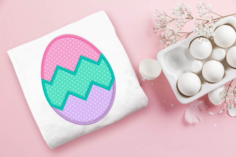 tricolor-zigzag-easter-egg-applique-embroidery