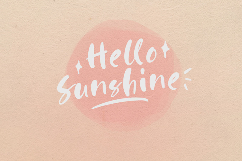 happy-pink-handwritten-font