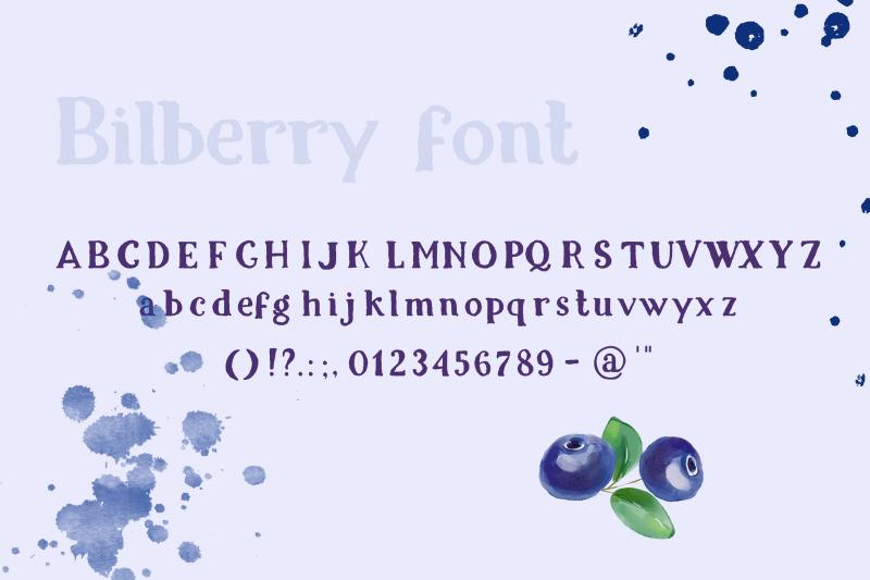 bilberry-rough-serif-font
