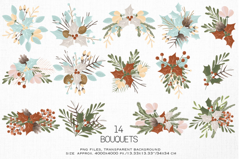 christmas-bouquets
