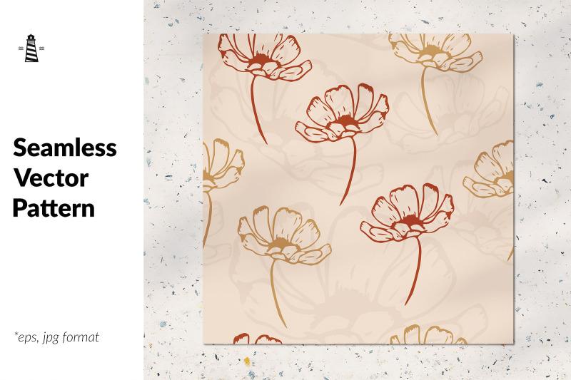 fall-flowers-seamless-pattern