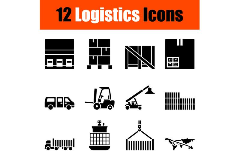 logistics-icon-set