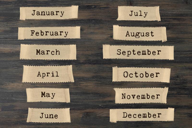 months-clipart-vintage-tape-clipart