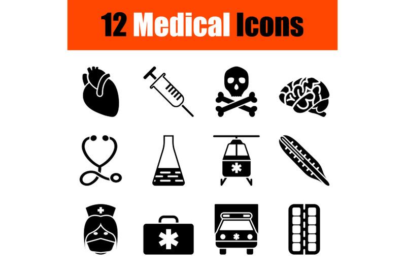 medical-icon-set