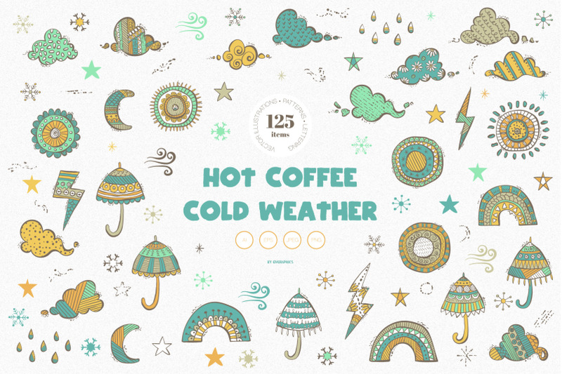 hot-coffee-cold-weather-vector-illustrations