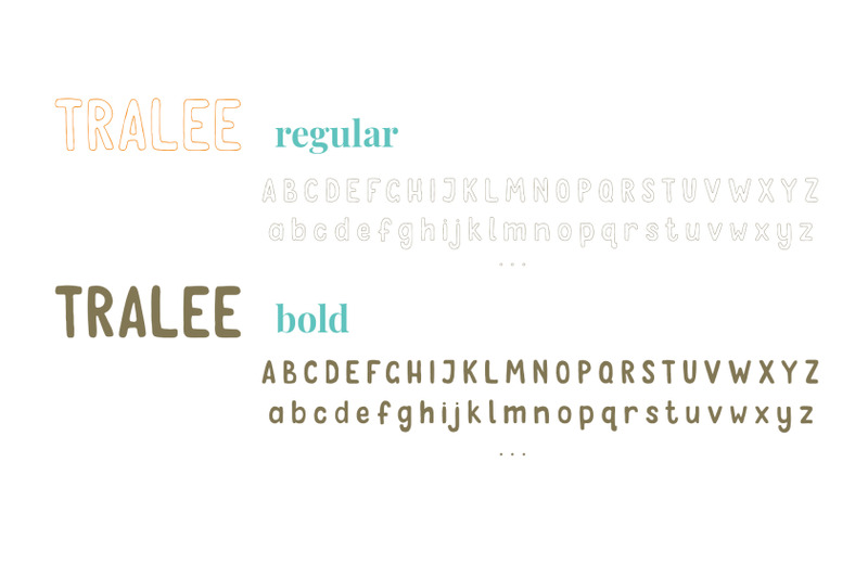 tralee-font-two-styles