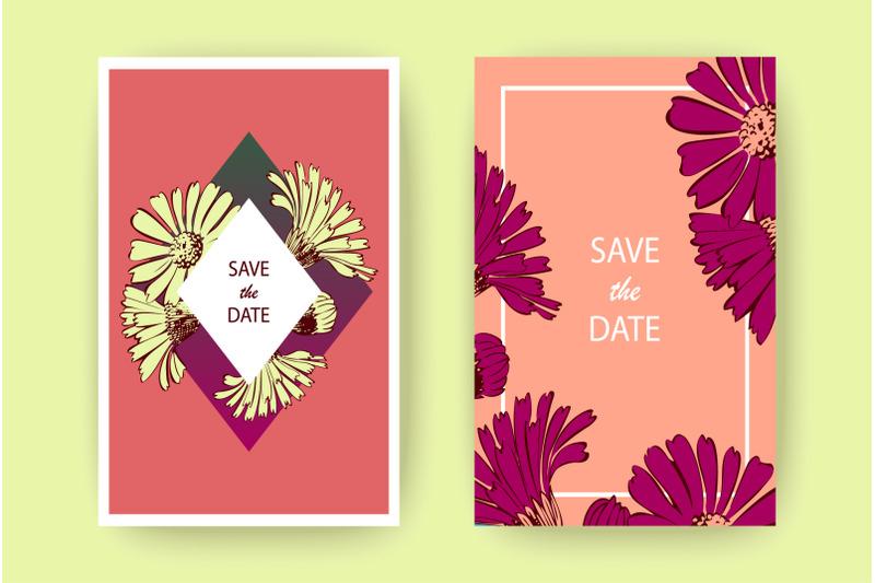 hand-drawn-chrysanthemum-flowers-greeting-card-artistic-vector-illust