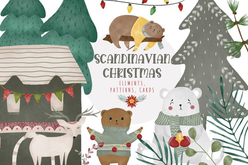 scandinavian-christmas-watercolor-sublimation-bundle