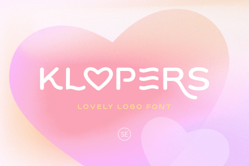 klopers-lovely-logo-font