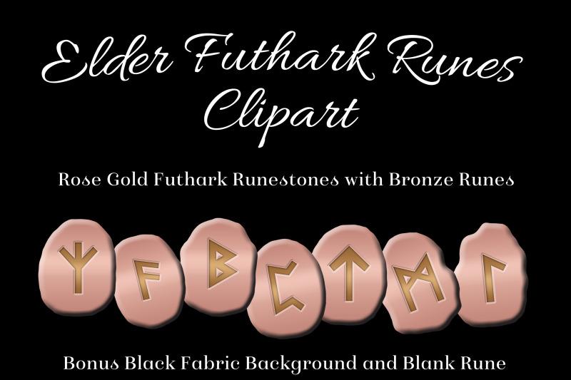 rose-gold-elder-futhark-runes-set-clipart-images