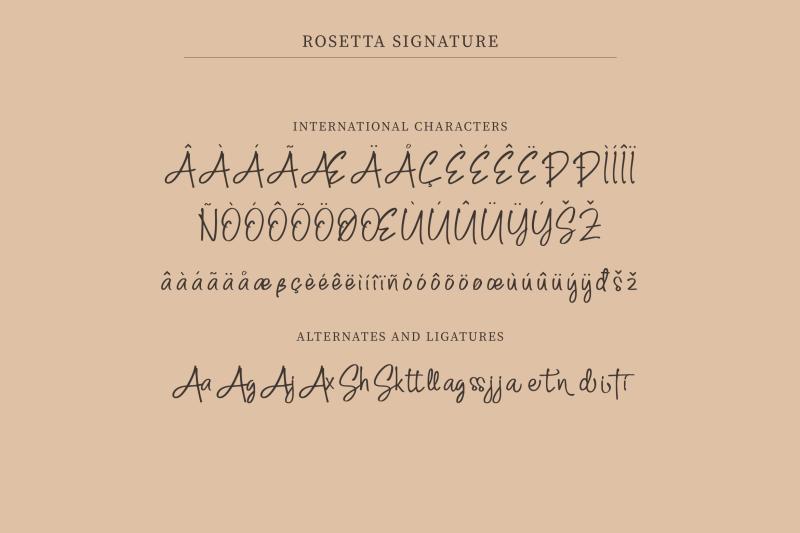 rosetta-signature