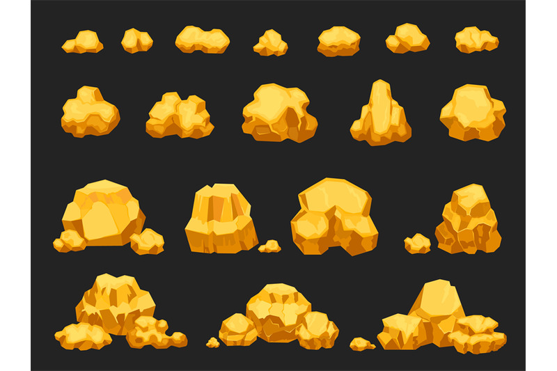 cartoon-gold-mine-nuggets-boulders-stones-and-piles-natural-shiny-s