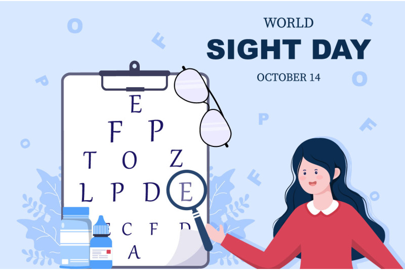 13-world-sight-day-eye-vector-illustration