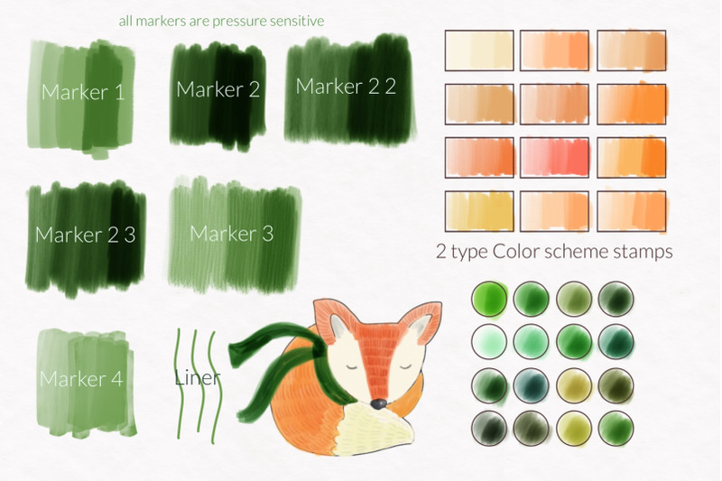 procreate-markers-and-swatches