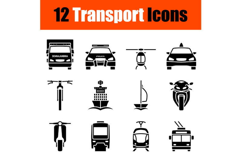 transport-icon-set