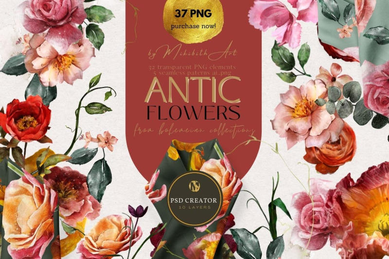 antic-flowers-amp-seamless-patterns-37-png