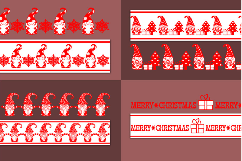 patterned-christmas-borders-vector-brushes