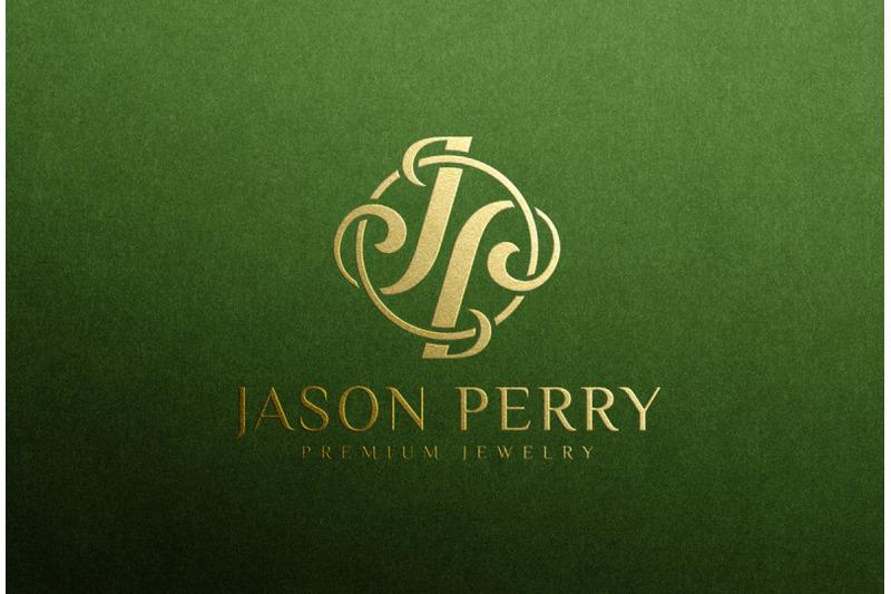 gold-foil-stamping-logo-mockup-on-green-paper