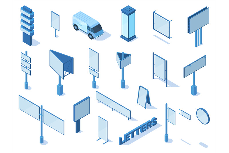 isometric-outdoor-street-advertising-media-billboards-and-banners-adv