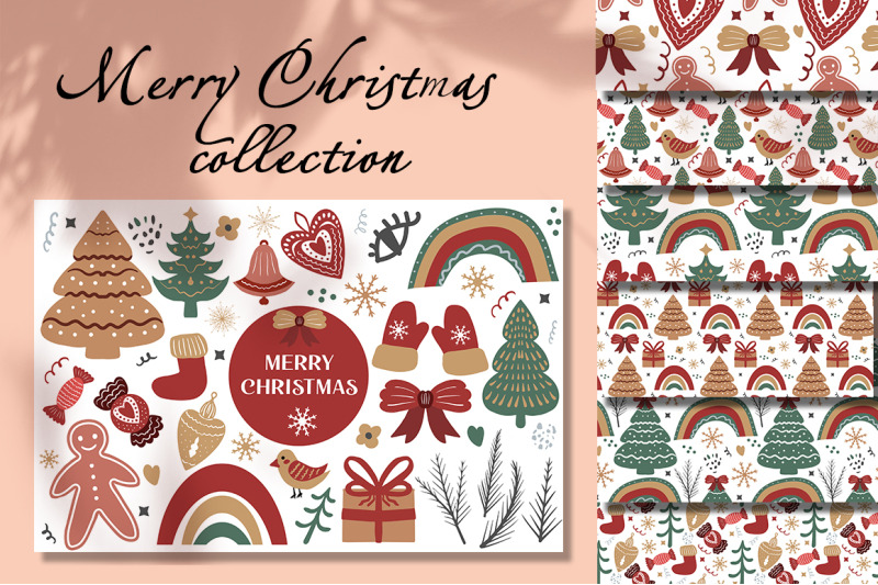 merry-christmas-boho-set
